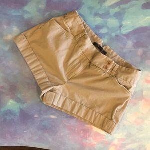 BCBG trouser shorts khaki